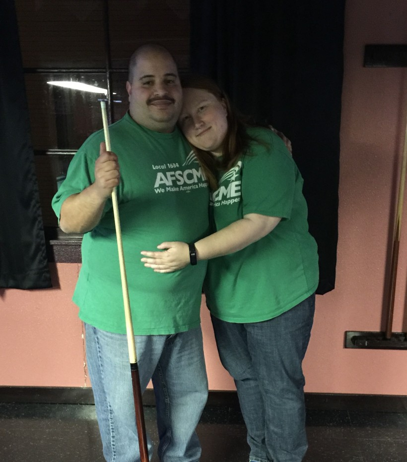 Another fantastic Pool Night for Humboldt County & AFSCME Local 1684