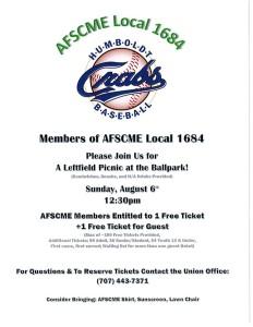 Crabs Baseball August 6 2017