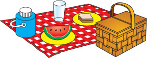 picnic setting image