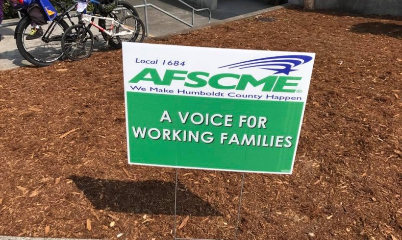 Take me out to the ballpark, AFSCME!