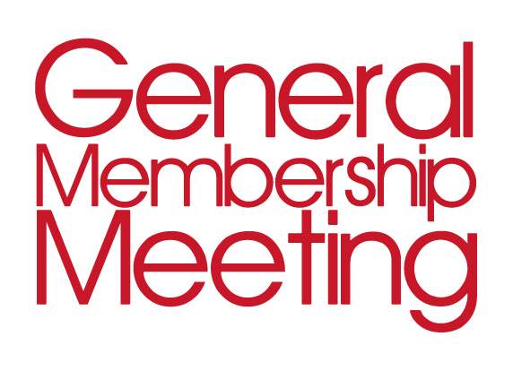 January 16th General Membership Meeting